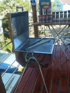 Stainless steel convection braais