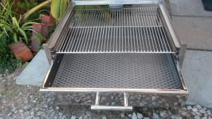 Stainless steel built in braais
