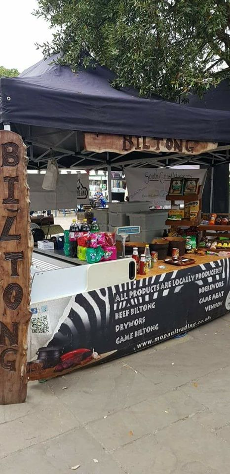 Biltong at the Horsham Market