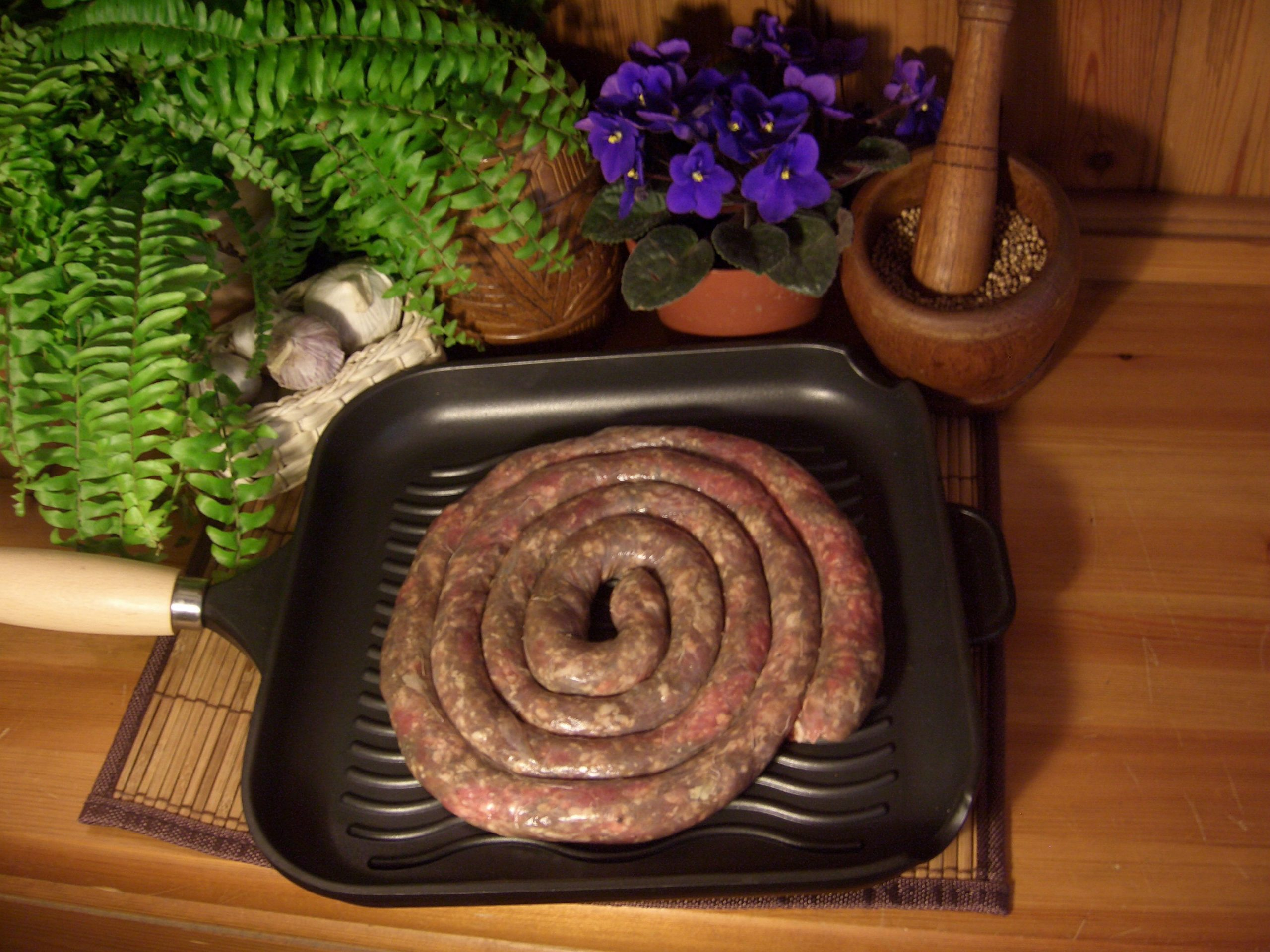 Authentic South African boerewors on the South Coast